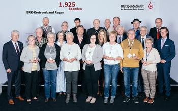 BSD-BRK-Ehrung 2019 Straubing - KV Regen (Copyright Emanuel Klempa)