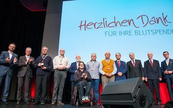 Blutspenderehrung Würzburg 2016