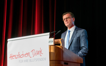 Georg Götz - Blutspenderehrung Coburg 2016