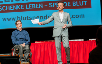 Felix Brunner & Michael Sporer - Blutspenderehrung Coburg 2016