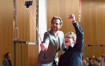 Michael Sporer & Felix Brunner - Blutspenderehrung Coburg 2016