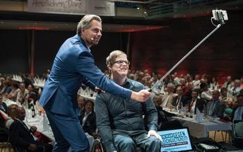 Michael Sporer, Felix Brunner - Blutspenderehrung Fürstenfeldbruck 2016