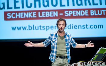 Chris Boettcher - Blutspenderehrung Fürstenfeldbruck 2016