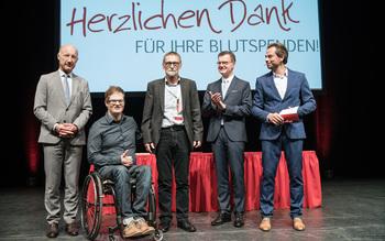 Blutspenderehrung Fürstenfeldbruck 2016