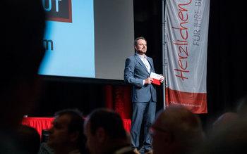 Michael Sporer - Blutspenderehrung Würzburg 2017