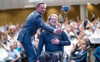 Michael Sporer & Felix Brunner - Blutspenderehrung Würzburg 2017